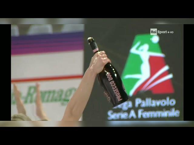 Festeggiamenti Coppa Italia 2021 Imoco Volley