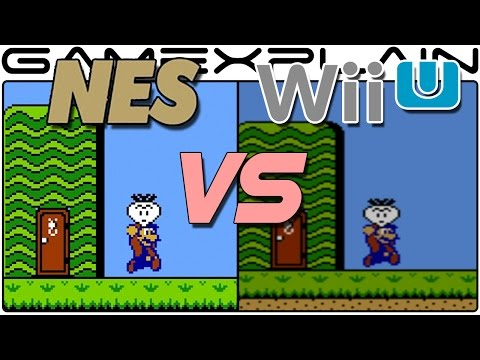 NES Classic vs Wii U Virtual Console - Head-to-Head Emulation Comparison