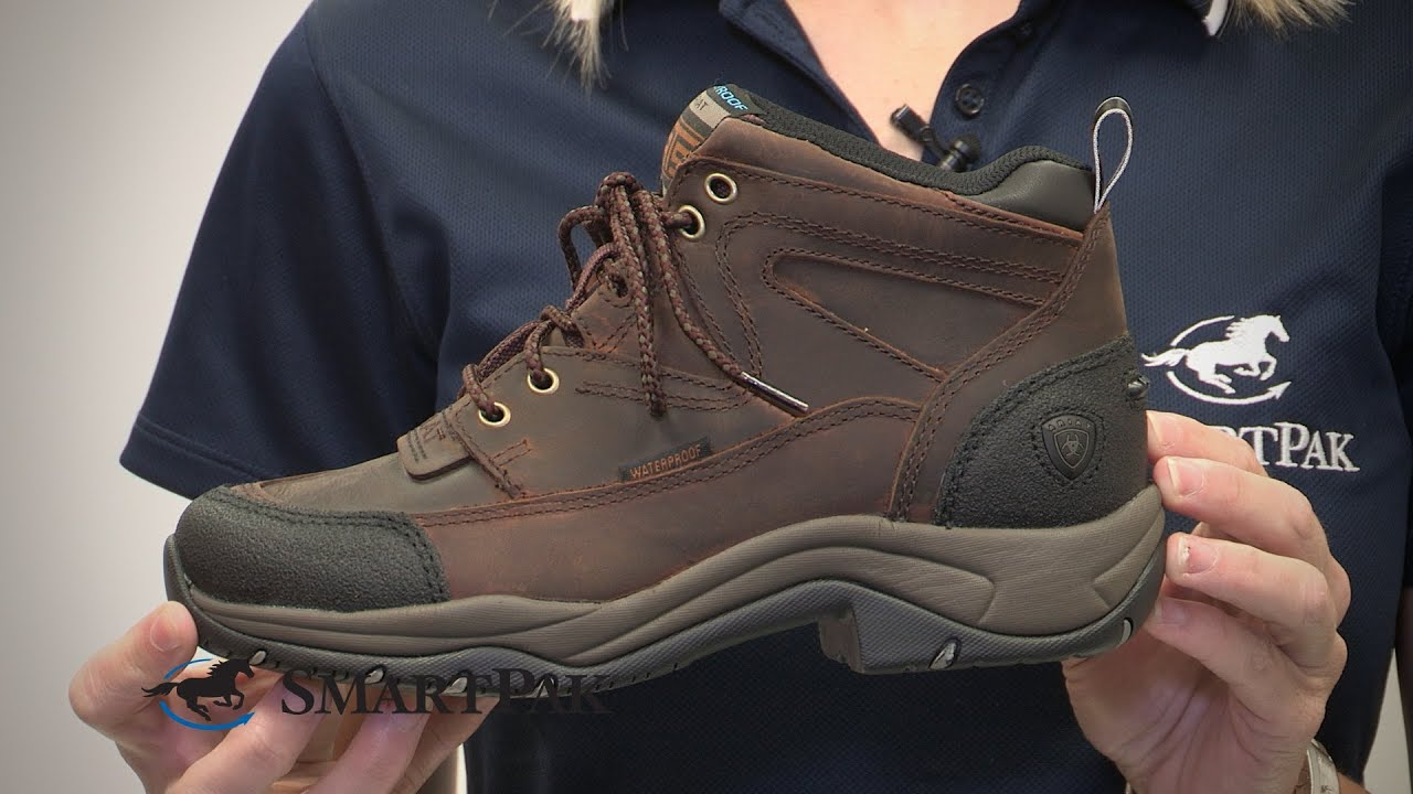 Ariat® Terrain Waterproof Boot Review - YouTube