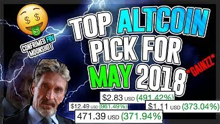 Top Breakout Altcoin For May 2018! 5x - 50x Profit Potential! HUGE GAINZ! MUST SEE VIDEO