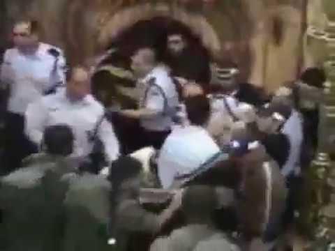 Драка между христианами армянской и греческой церкви