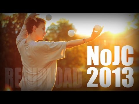 Norwegian Juggling Convention 2013 (with sound | re-upload)