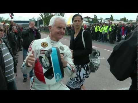 TT Assen GP motor coureur Wil Hartog terug op het circuit.CRT Winkel. HD 1080