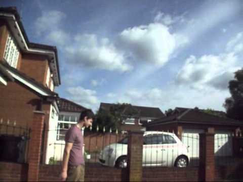 Max throwing stones at me and just being him ;)♥