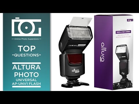 CAMERA TIPS | ALTURA PHOTO Universal AP-UNV1 Flash