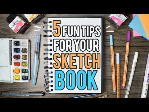5 Fun Things to do in Your Sketchbook