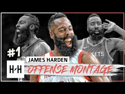 James Harden MVP Montage, Full Offense Highlights 2017-2018 (Part 1) - King of Stepback!