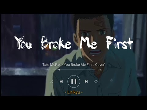 Tate McRae - You Broke Me First 'Conor Maynard Cover' (Lyrics Terjemahan Indonesia)