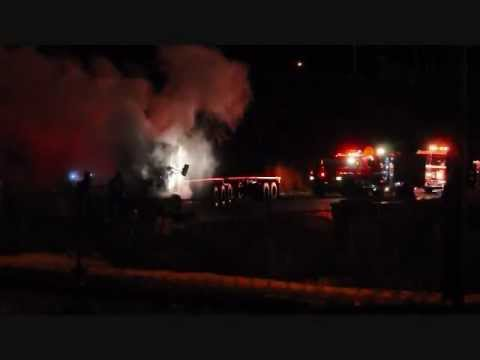 Semi fire at Tolko in Williams Lake doused quickly