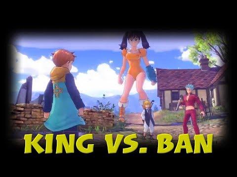 Boss Battle | Ban Vs King | Seven Deadly Sins Knights of Britannia