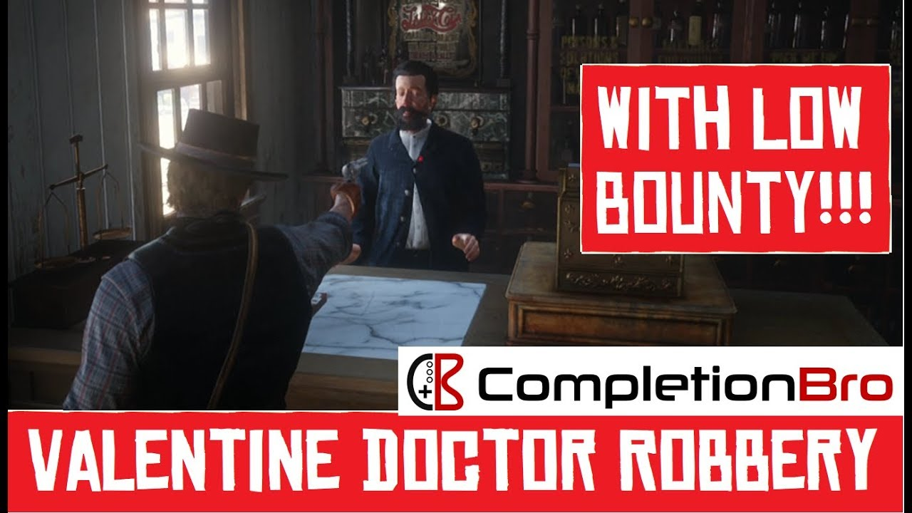 Valentine Doctor Robbery Rdr2 Youtube