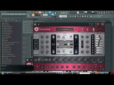 Beat Creation-Making A Beat With Stock Plugins! ~Sakura VST