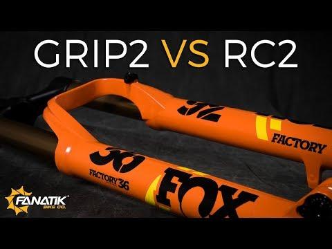 GRIP2 VS RC2 Fox 36 Damper Comparison // Review