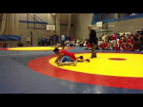 Cameron Ashcroft Wigan wrestler Derbyshire open