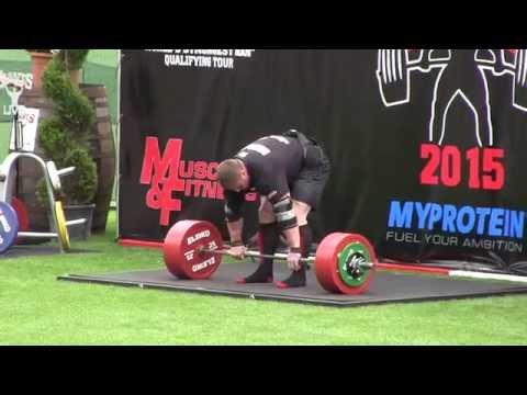 Krzysztof Radzikowski 400kg ,World record Deadlift Championship 2015