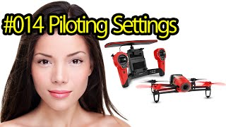 Tutorial #014 Piloting Settings Parrot Bebop Drone - RC Quadcopter With Camera For Portrait Photos