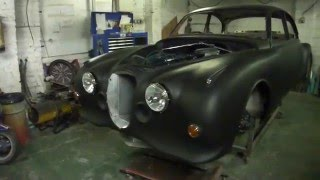 mk2 jaguar 2 door wide body coupe.