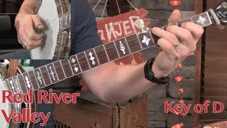 3 Keys, 1 Banjo, 0 Capos! Red River Valley Lesson!
