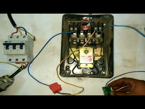 [QNCB_7524]  Dol starter remote wiring connection - YouTube | L T Motor Starter Circuit Diagram |  | YouTube