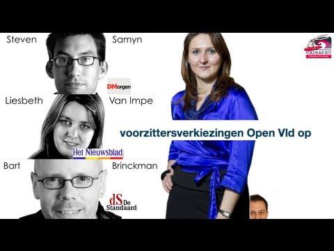 VRT, De Morgen, Het Nieuwsblad en De Standaard kiezen partijvoorzitter Open VLD