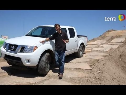 Prueba Nissan Frontier 2013 Espaol