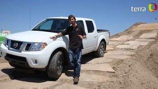 Prueba Nissan Frontier 2013 (Español)