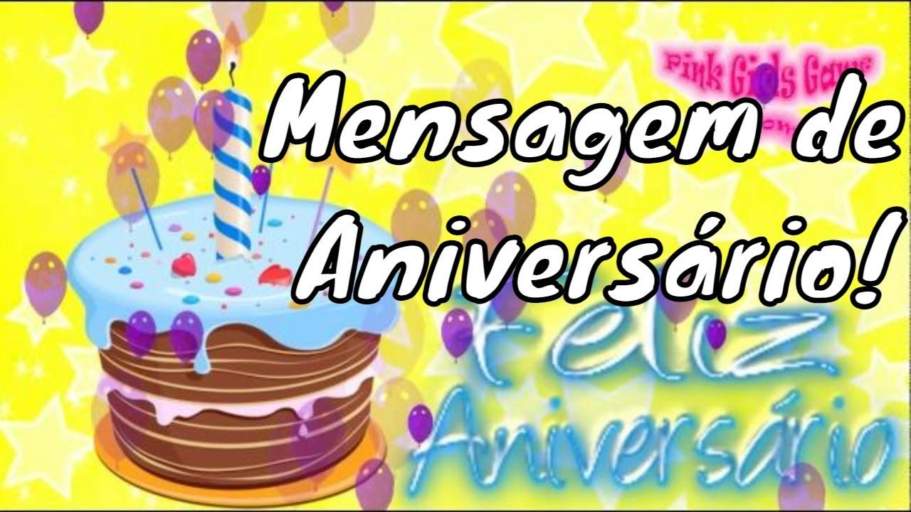 Mensagens De Aniversario Linda: Linda Mensagem De Aniversário Bolo