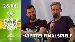 [2/3] Viertelfinalspiele - Prognose | Rocket Beans TV EM-Studio | 28.06.2016