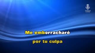 ♫ Demo - Karaoke - ME EMBORRACHARÉ - Grupo Extra