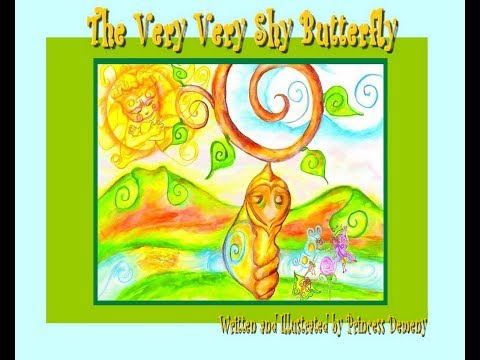 The Very Very Shy Butterfly By Princess Demeny ; Children's Book,  Bedtime Story