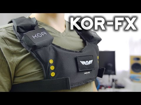 KOR-FX Gaming Vest Review | Haptic Feedback from Games to Your Body!