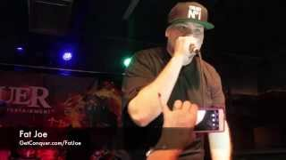fat joe lean back freestyle at the 2014 conquer entertainment after party in greensboro nc