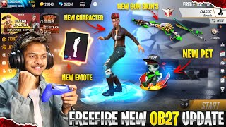 Advance Server New Character, New Alien Pet, New Elite Andrew, New Emotes Garena Free Fire