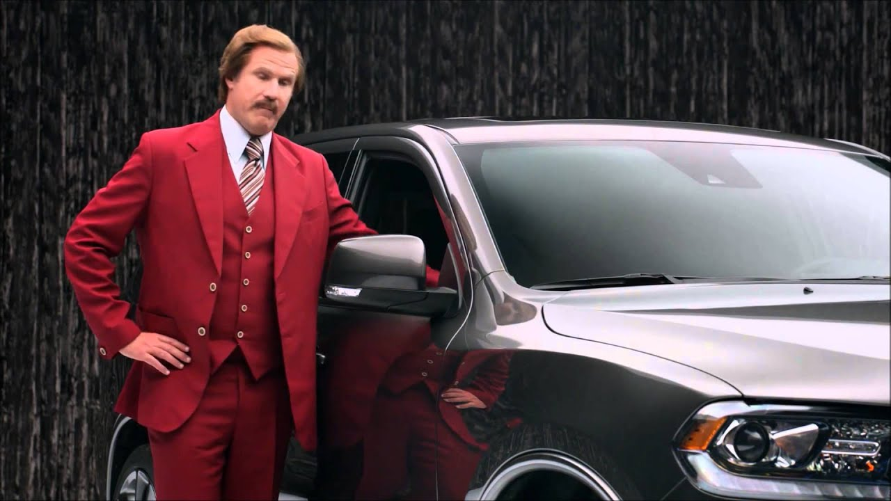 Dodge Durango Ron Burgundy Youtube