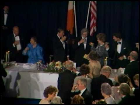 President Reagan's and Prime Minister Fitzgerald's Toasts in Dublin on June 4, 1984