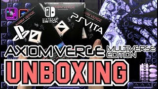 Axiom Verge Multiverse Edition (PS4/Switch/PS Vita)Unboxing !!