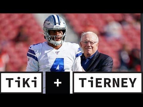 Dak Prescott Is NOT Worth $40 Million A Year!   Tiki + Tierney