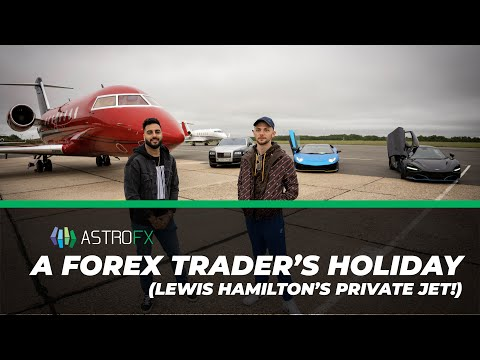 A Forex Trader's Holiday (Lewis Hamilton's Private Jet)
