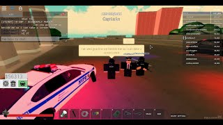Playing POLICE sim NYC again! ROBLOX game play.
