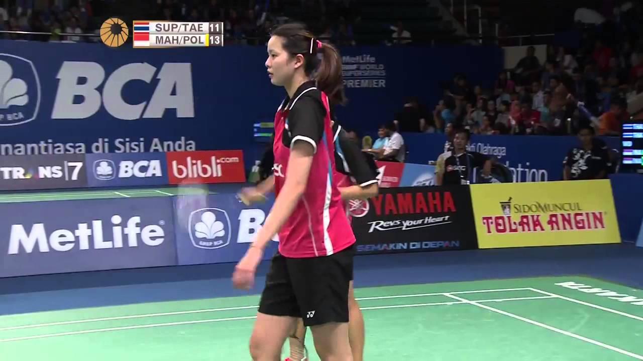 BCA Indonesia Open 2015 Badminton R16 M1 WD