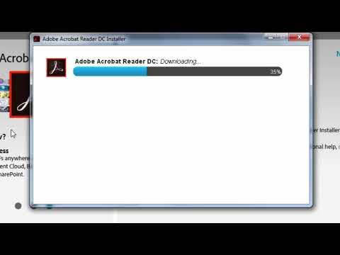 How to Install Adobe Acrobat Reader DC on Windows