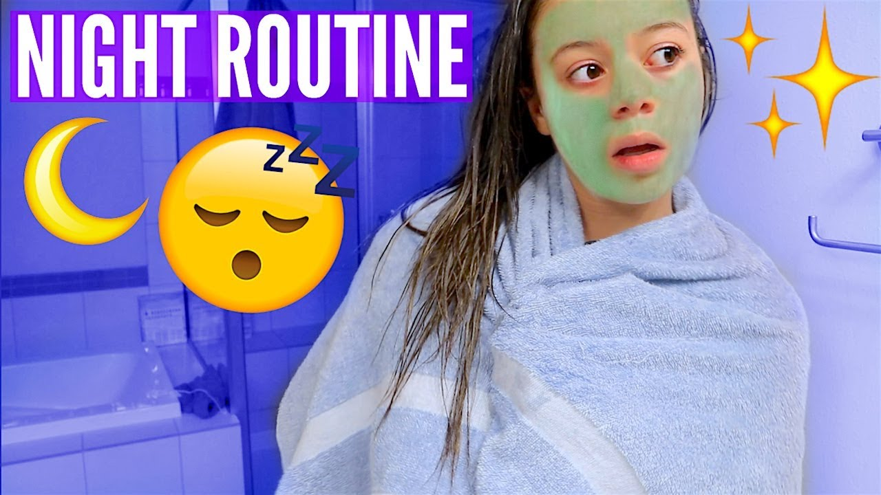 My Pamper Night Routine! | HeyItsSarai - YouTube