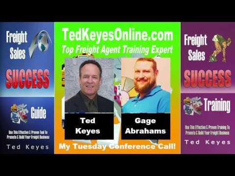 [TKO] ♦ Freight Sales Expert Guest - Gage Abrahams ♦ TedKeyesOnline.com