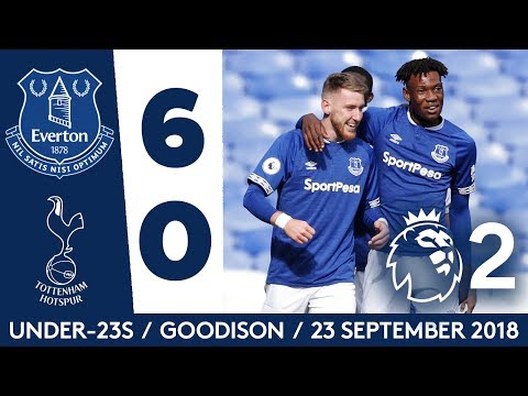 U23S HIT SPURS FOR SIX! | EVERTON 6-0 SPURS: ALL THE GOALS!