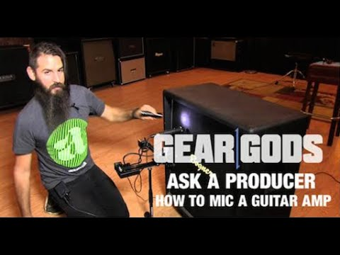 How To Mic A Guitar Amp With THE DILLINGER ESCAPE PLAN | ASK A PRODUCER
