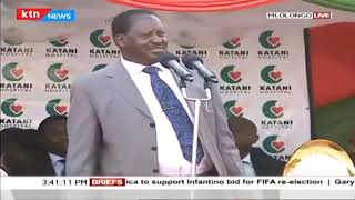 Raila Odinga responds to DP Ruto' s remarks