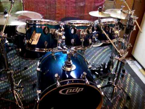 Pdp X7 All Maple Shell Drum Kit Tour Youtube