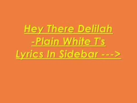 hey there delilah lyrics pdf