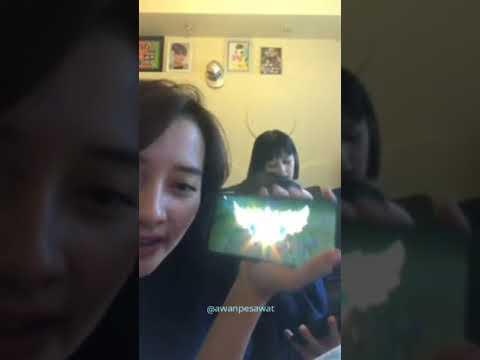 Haruka dan Feni JKT48 Karaoke Lagu Suki Suki Skip! (Live Instagram)