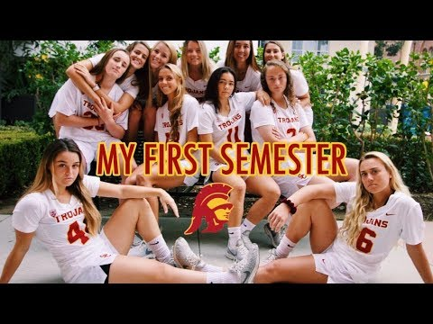 My First Semester - USC Trojans